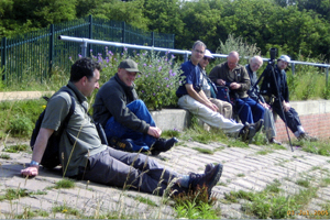 Taking a Break with The Netherfield Wildlife Group