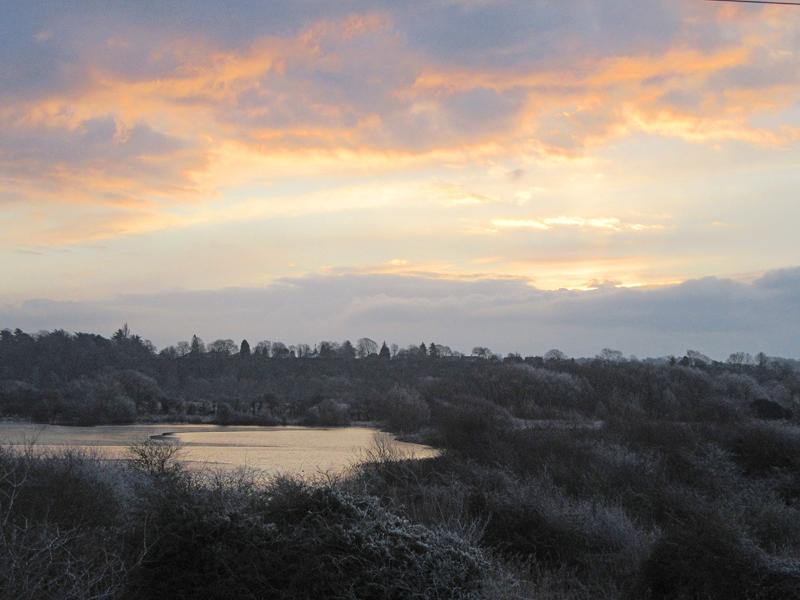 Frosty Dawn, Large Gravel Pit