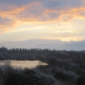 Frosty Dawn, Large Gravel Pit