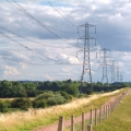 Pylons and Deep Pit bank